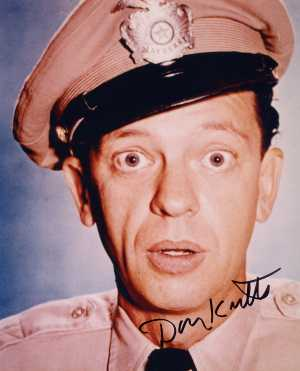 The dearly departed and mega-talented Don Knotts