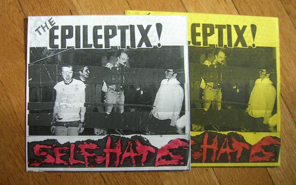 Epileptix - Self Hate - b&w variants