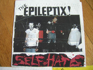 Epileptix - Self Hate - color front