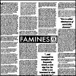 Famines, The - Syllables / Got Lies If You Want Them