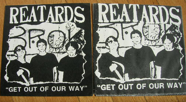 Reatards - Get Out of Our Way - Blahll! press