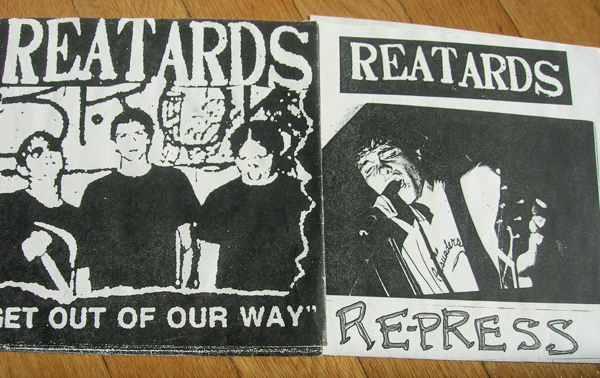 Reatards - Get Out of Our Way - Contaminated press